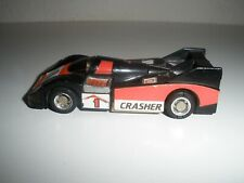 Vintage 1983 Gobots Crasher Black Mr-20 Machine Robo Bandai