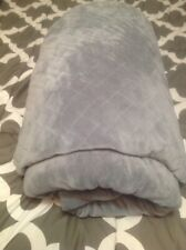 Mirian Weighted Blanket Washable Heavy Comforter Removable Cover 60 x 80 25 Lb