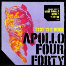 APOLLO FOUR FORTY - STOP THE ROCK 1999 UK CD SINGLE IN CARD SLEEVE