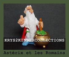 Figurine plastique Astérix Panoramix et sa marmite de potion Kinder