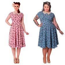Women's Tea Polyester Mid-Calf Dresses