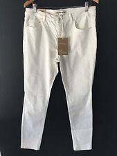 CR Love Sz XL (16) Country Road Mid Rise Crop Stretch Jegging White Jean