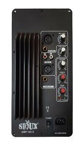 Aktiv-Einbau-Modul  100 watt rms home hifi pa verstärker modul  b-ware