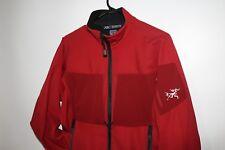 Arcteryx Womens Soft shell polartec jacket MEDIUM SANGRIA RED