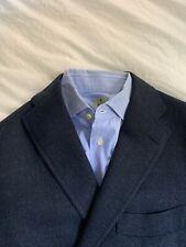 Stunning Ring Jacket Japan Navy Blue Wool Alpaca Jacket Sportcoat Size 52 $900