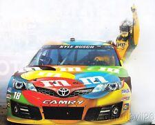 2014 Kyle Busch M&M's Toyota Camry NASCAR Sprint Cup postcard