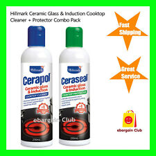 Hillmark Ceramic Glass & Induction Cooktop Cleaner & Protector Cerapol Ceraseal