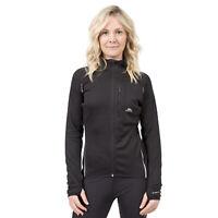 Trespass Womens Long Sleeve Full Zip Jacket Gym Top Active Workout Ego
