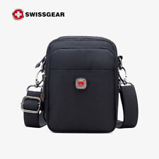 Men's SwissGear Flat Crossbody Shoulder Bag Handbag CrossBody Waist Bag