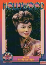 Joan Fontaine Actress Suspicion Hollywood Walk of Fame Trading Card NOT Postcard