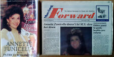 ANNETTE FUNICELLO - DREAM IS A WISH YOUR HEART MAKES...  - PAPERBACK + NEWSPAPER