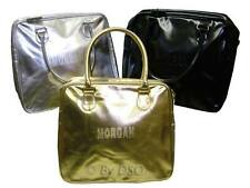 Morgan Gold Leather Effect Designer Bag