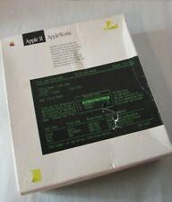 Vintage 1980's Apple II AppleWorks Software Set Apple IIc Owner's Manual