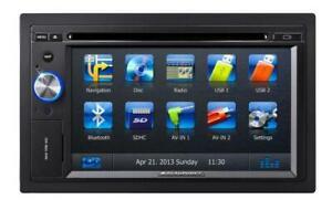 Blaupunkt Karlsruhe 845 - 2-DIN Navigation mit Touchscreen Bluetooth TMC USB DVD