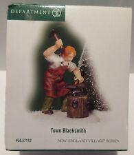 Dept 56- New England Village-Town Blacksmith- #5712- Nib