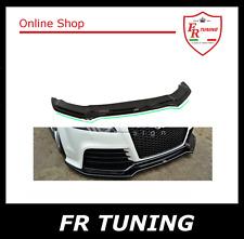 AUDI TT 8J RS 09>14 SPOILER SOTTOPARAURTI ANTERIORE IN ABS FRONT SPLITTER LARGE