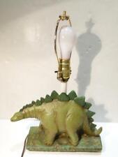 Vintage Brontosaurus Dinosaur Childs Desk Lamp