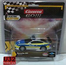 Carrera 64174 Go Porsche 911 Gt3 Polizei Slot Car