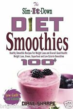 Slim Down Smoothies Diet Cook Book Healthy Eating Weight Loss Nutrition Skinny