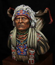 Busto 1/9 TARTAR MINIATURES TRB250-69 Plain indian XIX century