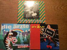 Die Ärzte  [3 CD Maxi] Hurra + Ein Song namens Schunder + Waldspaziergang mit ..
