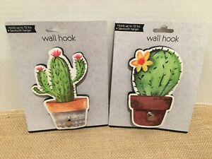 Cactus wall Hooks holds up to 12lbs Cute and light weight