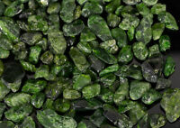 Wholesale CHROME DIOPSIDE polished crystals tumbled emerald stone #433T RUSSIA