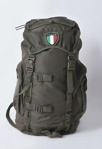 Zaino escursione tattico militare 25 LT 45x30x18, Green rucksack pack with patch