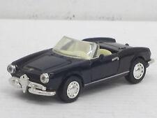 Alfa Romeo Giulietta Spider Cabrio in schwarz, o.OVP, New Ray, 1:43 (HV)