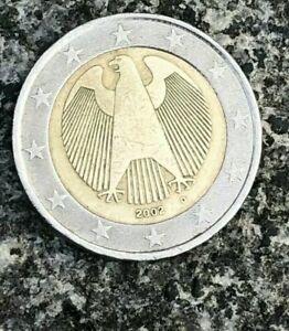 """2 euro ALLEMAGNE 2002 frappé """"D"""" rare"""