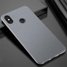 For Xiaomi Redmi Note 5 Pro S2 4 4X 5A Sandstone Matte Silicone Soft Case Cover