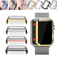 For Apple Watch Series 2 3 4 Cover Hard PC Case Screen Protector 38mm 42mm 40 44