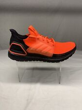 Adidas UltraBoost 19 Core Black Solar Red Running Gym G27131 Size 10.5