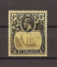"ST HELENA 1922 SG 92A ""Broken Mainmast"" Fine MNH Cat £275"
