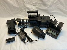 Sony Nex-Fs700U Camcorder with Backpack Case and Accessories