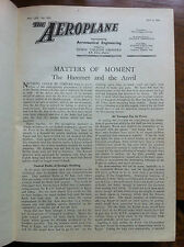 'The Aeroplane' magazine (Temple Press) 1 vol 1942 bound and immaculate (706)