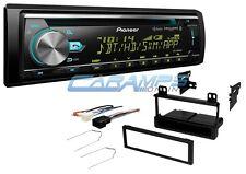 PIONEER BLUETOOTH CAR STEREO SIRIUS XM RADIO RECEIVER CD PLAYER W/ INSTALL KIT