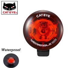 CATEYE Bicycle Red LED Flashing Tail Light Safety Warning Mini Rear Lamp New