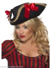 Sombreros, gorros y cascos pirata para disfraces y ropa de época