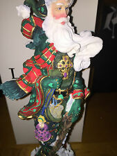 Lenox China 2001 Shamrock Santa Collection Irish Hand Painted Original box