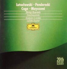 Lutoslawski / Penderecki / Cage / Mayuzumi: String Quartets - Lasalle Quartet