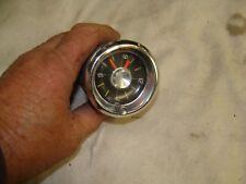 1961-1962 Chevy clock. Gray shelf