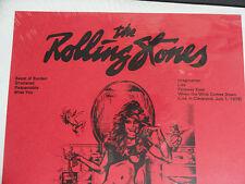 ROLLING STONES - RIM SHOUT LP SEALED RARE LIVE CLEVELAND JULY 1978 EXCELLENT