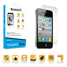 Pellicola Vetro Temperato Anukku Slim 0.26mm Protettiva Per Apple iPhone 4 4s