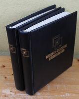 Deutsch-Deutsche Briefmarken Sammlung in 2 Alben mit guten Ausgaben