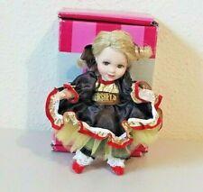 """2008 Marie Osmond Special Dark Chocolate Hershey's Miniature Doll w/Box 5"""""""