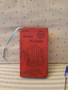 guide michelin 1914 Pravia Cartouche