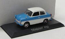 Trabant P50 ( 1958 ) weiss blau / Altaya Blister 1:43