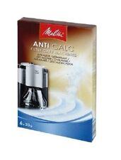 Melitta Anti CALC for Filter Coffee Machines Descaler 6 X 20G Sachets 6552749