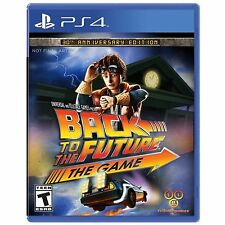 PS4 Games Back To The Future Brand New & Sealed